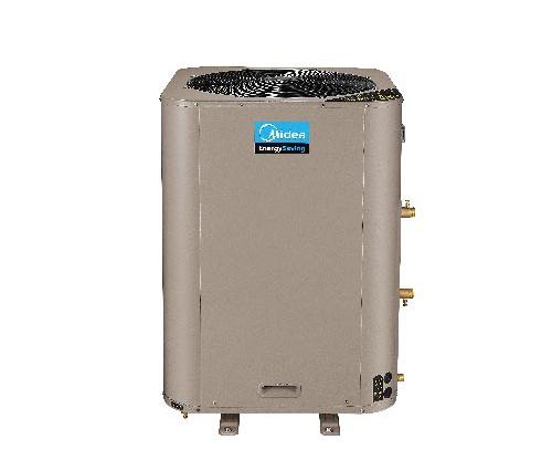 商用美的空气能热水机