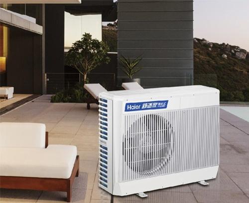 海尔空气能取暖热泵