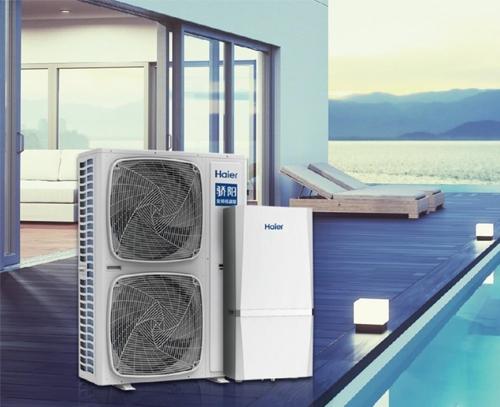 空气能取暖热泵